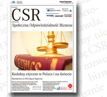 XIX edycja wyróżnień Raportu CSR