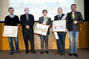 Nagrody KURIER365.PL  dla Królikowskiego, Olchowik-Adamowskiej i sieci przedszkoli AMO
