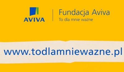 Rusza piąta edycja konkursu grantowego Fundacji Aviva