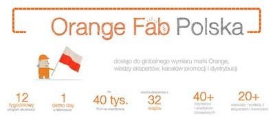 Rusza druga edycja Orange Fab