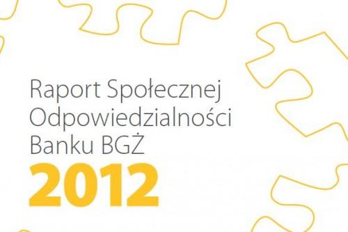 Bank BGŻ liderem rankingu odpowiedzialności społecznej banków w Polsce