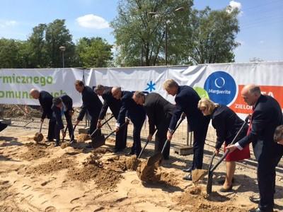 Początek budowy spalarni odpadów komunalnych w Poznaniu