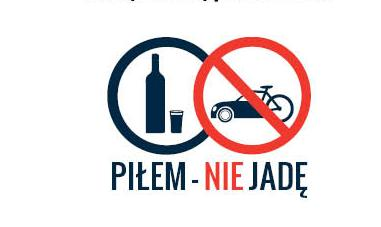 """Odpowiedzialny rowerzysta: """"piłem – NIE jadę!"""""""
