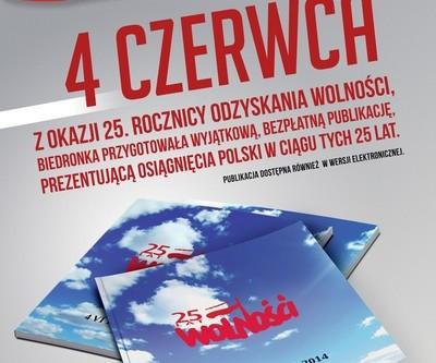Biedronka świętuje 25. rocznicę pierwszych wolnych wyborów w Polsce