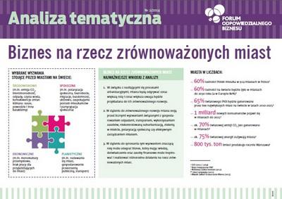 7 wyzwań dla zrównoważonego rozwoju miast w Polsce
