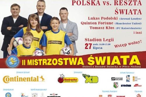 Biedronka ponownie wspiera Mistrzostwa Świata Dzieci z Domów Dziecka w piłce nożnej