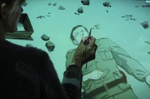 Powstał pierwszy w historii teledysk realizowany techniką animacji malarskiej