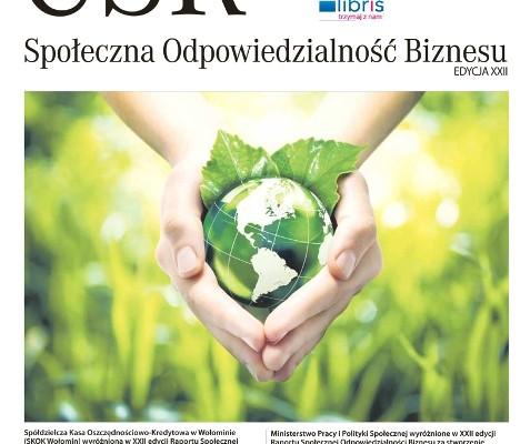 XXII edycja wyróżnień Raportu CSR
