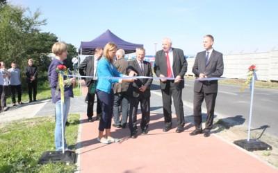 ArcelorMittal Poland współfinansuje budowę ścieżki rowerowej w powiecie krapkowickim