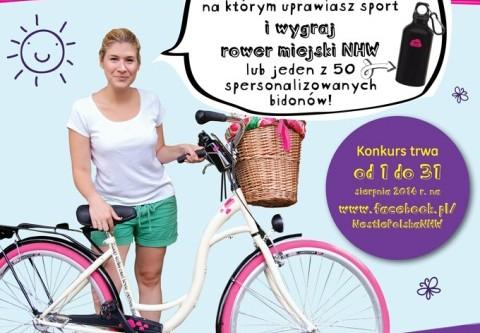 Wygraj rower miejski NHW!