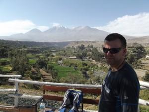 (Solo Amazon Expedition Marcin Gienieczko) - alimatyzacja w Arequipa