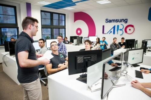 Samsung LABO – pierwsze zajęcia