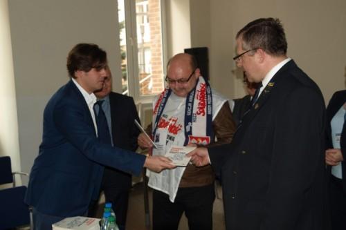 Prezes PKP CARGO przyjął delegację związkowców