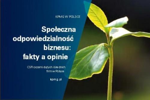 Raport KPMG i FOB: CSR oczami dużych i średnich firm w Polsce
