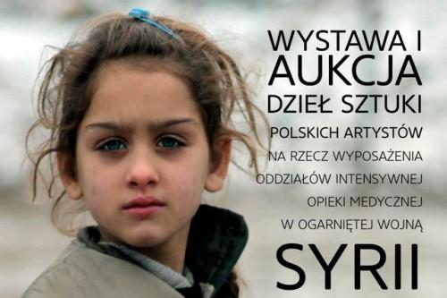 Polscy artyści dla poszkodowanych w wojnie w Syrii