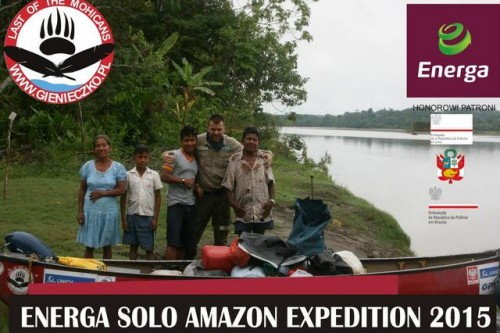 ENERGA SOLO AMAZON EXPEDITION – na pomoc Pomorskiemu Hospicjum dla Dzieci