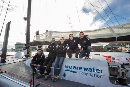 Fundacja We Are Water po raz drugi  wzięła udział w Barcelona World Race