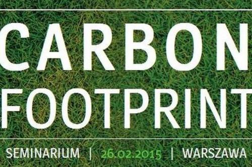 """Międzynarodowe seminarium """"Carbon footprint"""" w Warszawie"""