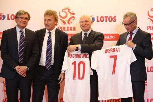 Grupa LOTOS Głównym Sponsorem Reprezentacji Polski w piłce nożnej