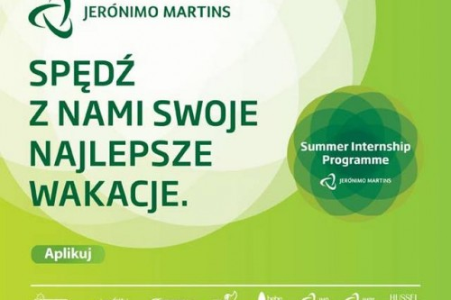 Program Praktyk Letnich w Jeronimo Martins Polska