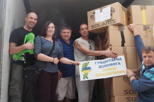 Fundacja Zielony Jamnik pomaga na Ukrainie