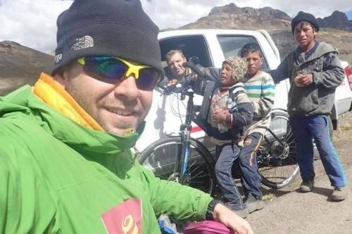 Relacja z trasy rowerowej Marcina Gienieczko