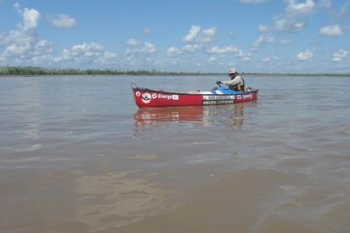 Sukces Marcina Gienieczko na rzece Ukajali