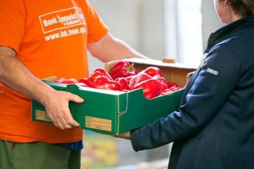 1% z zakupów w Tesco trafi do Banków Żywności