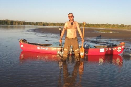 Gienieczko w rekordowym czasie dopłynął do Iquitos
