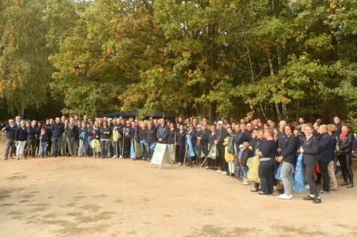 Pracownicy Nestlé w Kaliszu wysprzątali Las Winiarski
