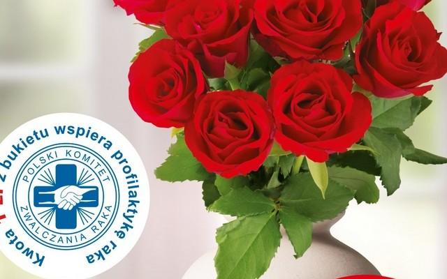 Kup róże i razem z Biedronką wesprzyj edukację w obszarze profilaktyki nowotworowej