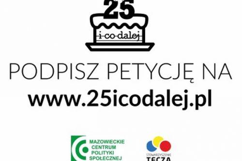 """""""25 i co dalej?"""" – kampania społeczna na rzecz dorosłych niepełnosprawnych"""