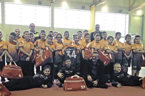 Piłkarski start z firmą Ricoh Polska