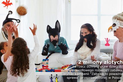 IKEA w Polsce zebrała ponad dwa miliony złotych na programy wspierające rozwój dzieci