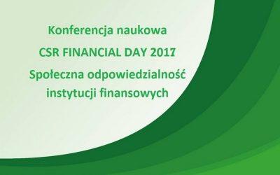 Konferencja CSR Financial Day 2017