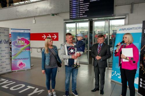 Listopad z ponad 5% wzrostem na Lotnisku Warszawa/Modlin