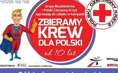 10. edycja kampanii Zbieramy Krew dla Polski