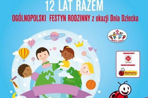 """Festyn rodzinny """"Bądźmy razem""""  w Łodzi i na Mazowszu"""