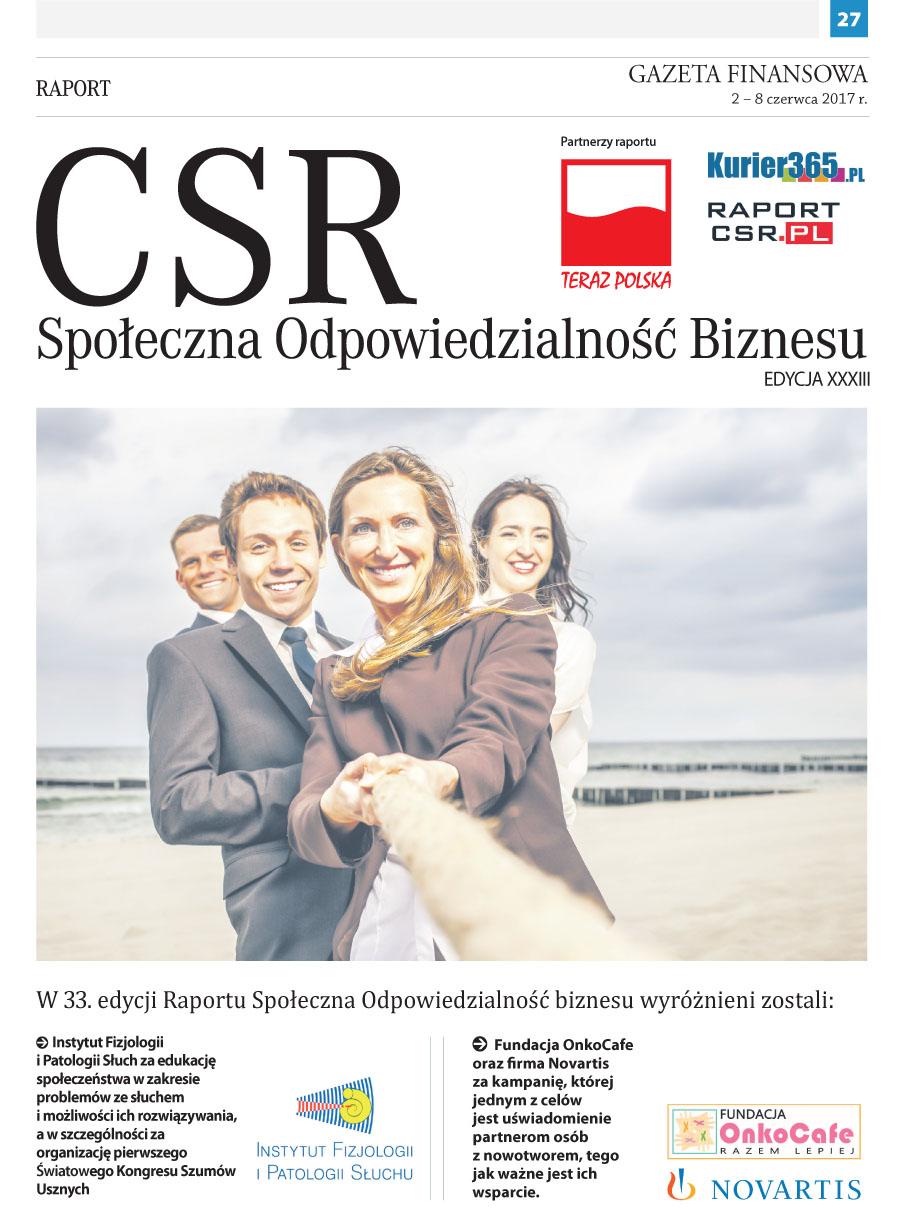 Raport CSR