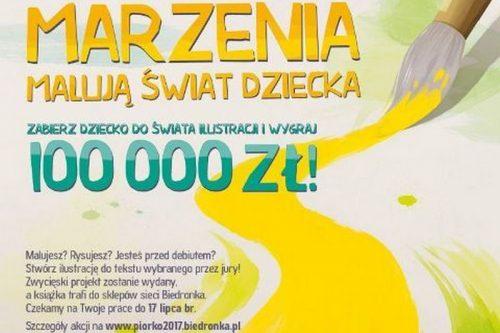 Ilustratorzy, tylko do 17 lipca czekamy na Wasze prace w konkursie Piórko 2017. Do wygrania jest 100 tys. zł!