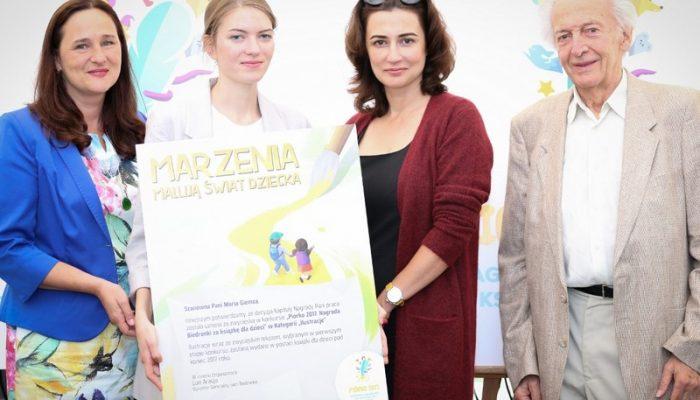 "Maria Giemza laureatką konkursu  Piórko 2017 w kategorii ""Ilustracje"""