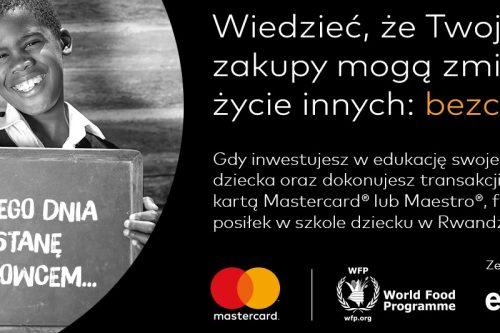 Mastercard włącza Polaków w fundowanie szkolnych posiłków