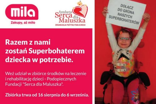 Zostań Superbohaterem dziecka w potrzebie