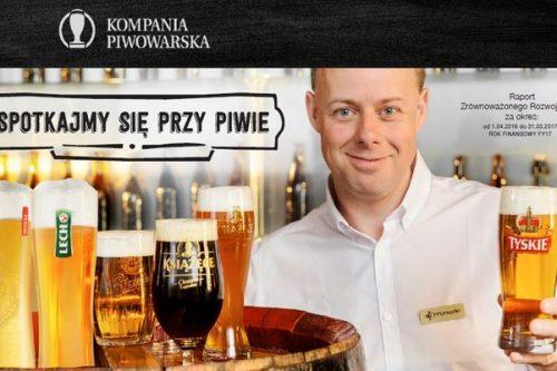 """""""Spotkajmy się przy piwie"""" – nowy raport CSR Kompanii Piwowarskiej"""