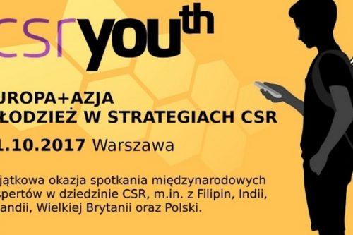 Konferencja EUROPA + AZJA Młodzież w strategiach CSR