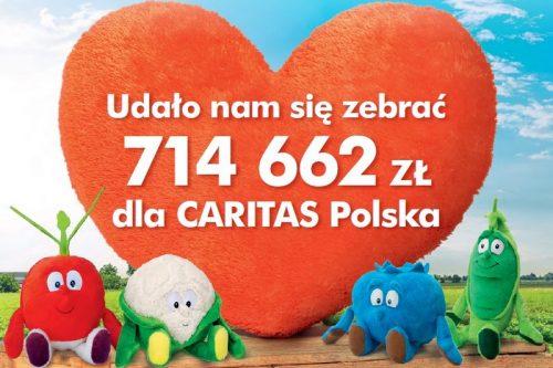 Dzięki Świeżakom ponad 700 tysięcy zł na cele charytatywne