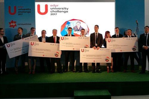 EDP Renewables przedstawia laureatów nagrodzonych w University Challenge