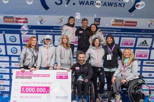 Dzięki T‑Mobile Polska piąty milion złotych trafi do dzieci niepełnosprawnych ruchowo