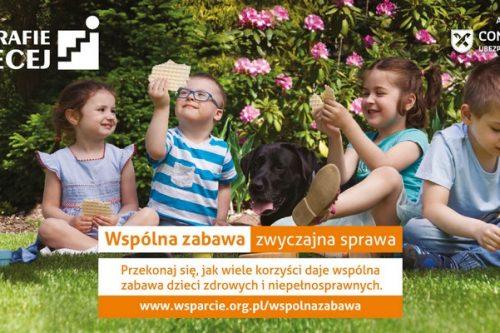 """Concordia Ubezpieczenia partnerem kampanii społecznej Stowarzyszenia """"Potrafię więcej"""""""