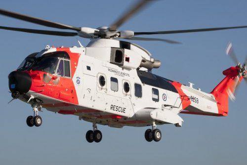 Leonardo rozpoczyna dostawy 16 śmigłowców ratowniczych dla Norwegii